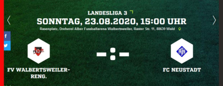 Landesliga-Saisonstart am 23.08.